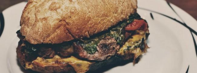Sandwich mit gegrillter Paprika