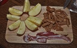 Apfel Karamell Bacon Bon Bons