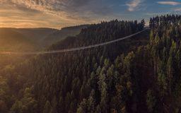 Geierlaybrücke bei Sonnenaufgang